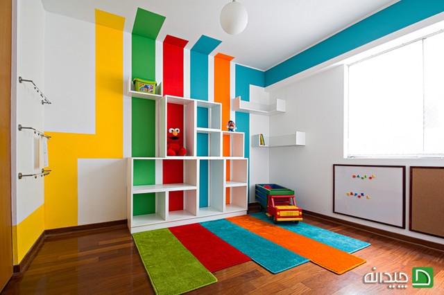 رنگ اتاق کودک چه تاثیری روی شخصیت او دارد