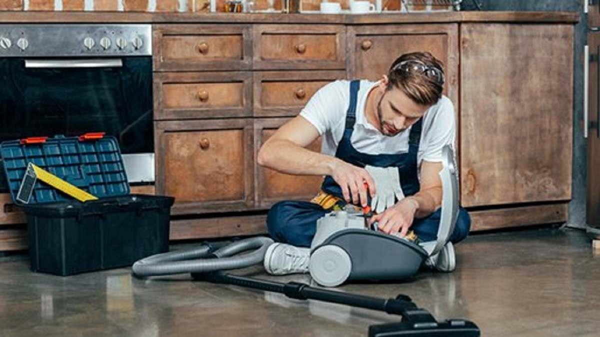 تعمیرات ساده جاروبرقی در منزل