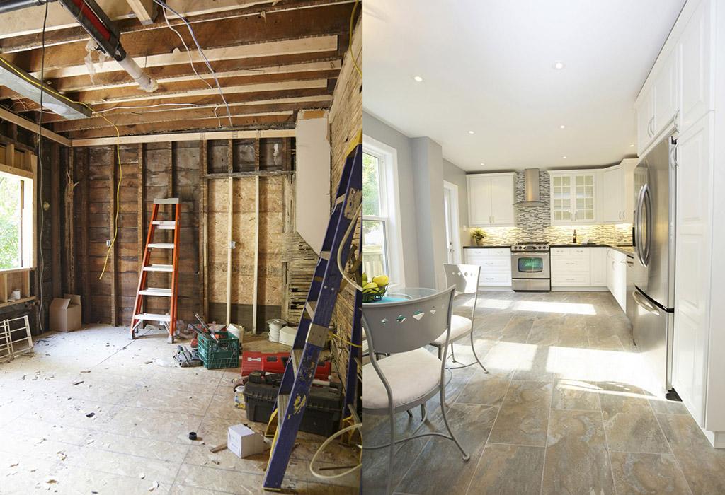 نکاتی در خصوص بازسازی و تعمیرات خانه