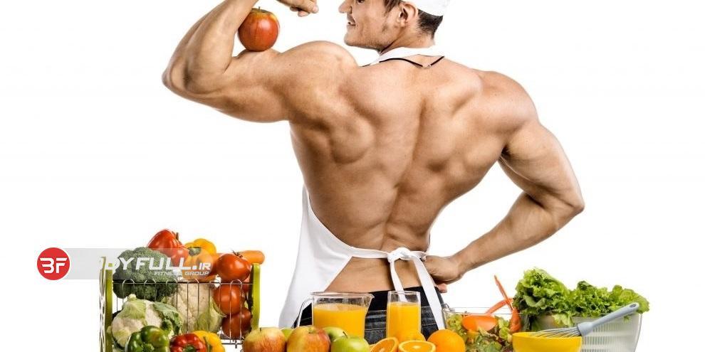 برنامه غذایی و تغذیه بدنسازی حجمی بدون مکمل