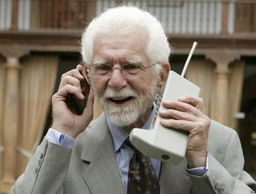 مخترع اولین تلفن همراه