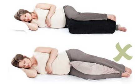بهترین روش خوابیدن در سه ماهه اول بارداری