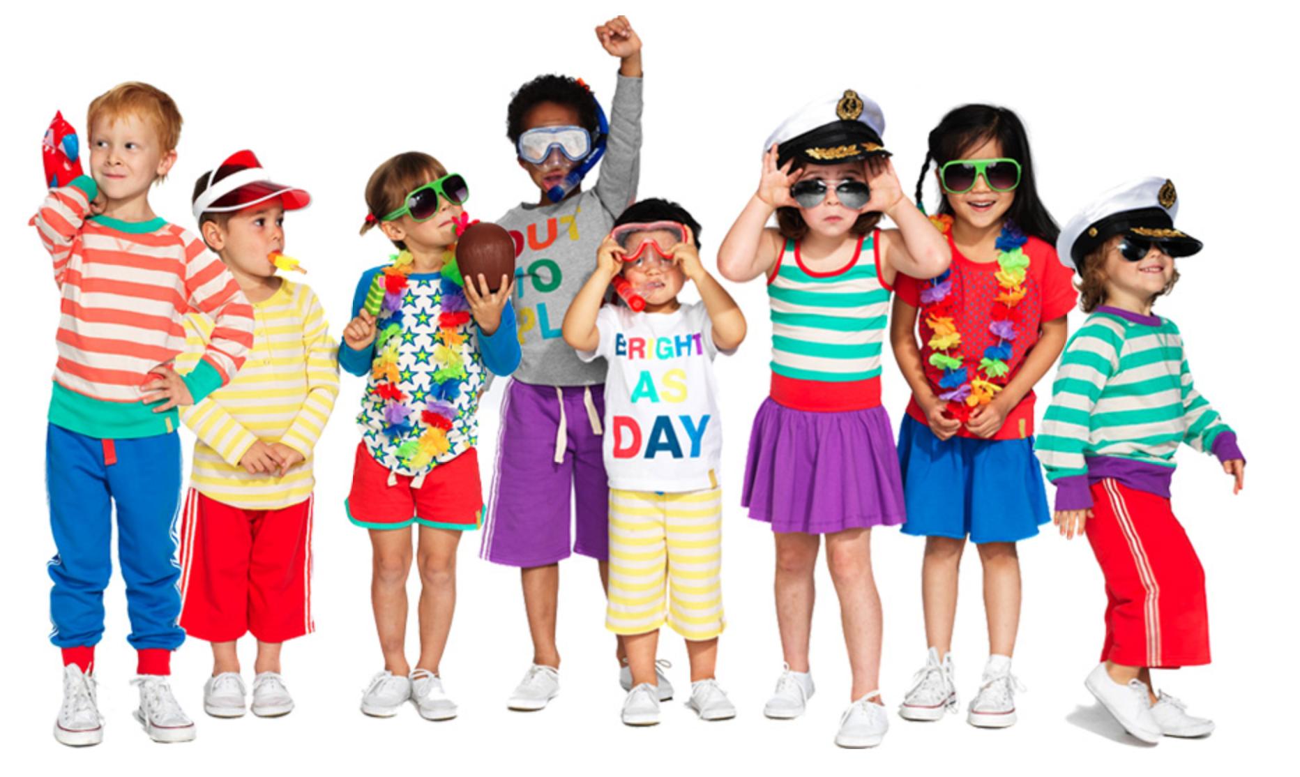تاثیر روانی رنگ لباس روی کودکان