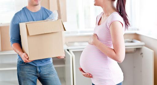 خطرات کارهای خانه در دوران بارداری