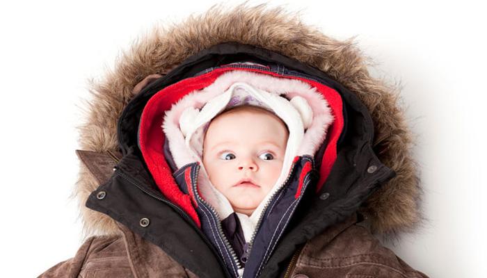 پوشش کودکان در زمستان، انتخاب مناسب لباس